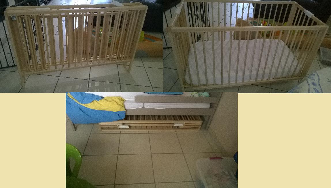Lit En Bois Pliant : trouv? un lit pliant en bois sur le site Amazon, au prix de 70 euros
